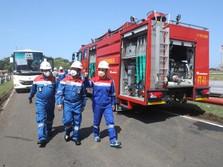 Kebakaran Kilang Pertamina Cilacap Berakhir, Api Sudah Padam!