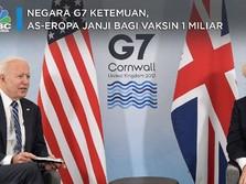 Negara G7 Ketemuan, AS-Eropa Janji Bagi Vaksin 1 Miliar