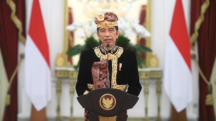 Presiden Joko Widodo membuka secara virtual Pesta Kesenian Bali ke-43