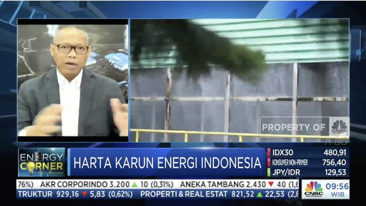 Enegy Corner/ CNBC Indonesia