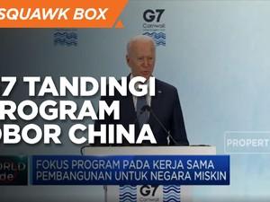 G7 Rancang Program Infrastruktur Tandingi Proyek OBOR China