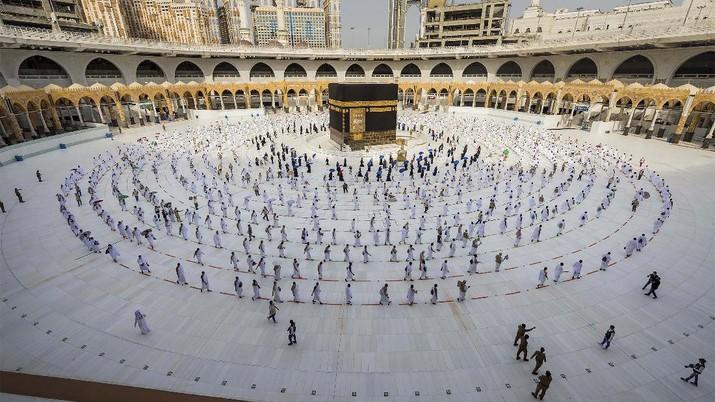 Ilustrasi Mekkah. (AP/Ministry of Media)
