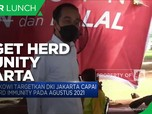 Jokowi Targetkan Herd Immunity Jakarta pada Agustus 2021