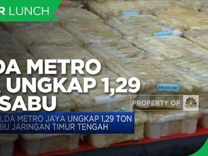 Polda Metro Jaya Ungkap 1.29 Ton Sabu