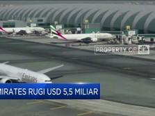 Emirates Catat Kerugian USD 5,5 Miliar