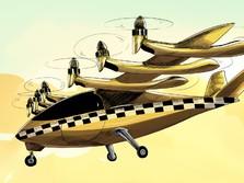 Mengenal Taksi Terbang, Alat Transportasi Masa Depan