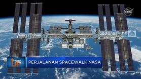 Pasang Komponen iROSA, NASA Siapkan Perjalanan Luar Angkasa