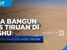 China Bangun Pusat Simulasi Mars di Lenghu