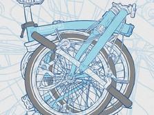 Jangan Kaget, Segini Harga Sepeda Brompton Sekarang
