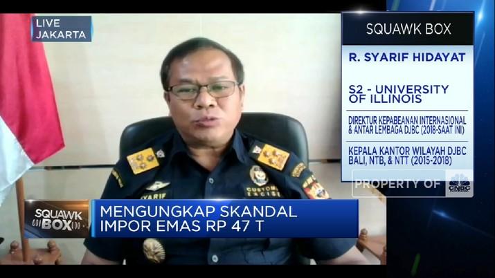 Jawaban DJBC Soal Tudingan Skandal Impor Emas Rp 47 Triliun (CNBC Indonesia TV)