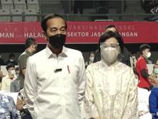 Gaspol Vaksinasi, Jokowi Mau Herd Immunity Tercapai Agustus!