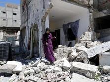 Dibom Semalam, Potret Terkini Gaza Pasca Serangan Baru Israel
