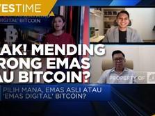 Pertimbangkan Ini Sebelum Borong Emas Atau Bitcoin Cs!