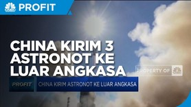 China Sukses Kirim 3 Astronot Ke Luar Angkasa