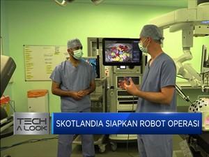 Dokter Skotlandia Perkenalkan Robot Operasi Manusia