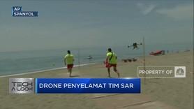 Drone Bantu Tugas SAR di Wilayah Pantai Spanyol