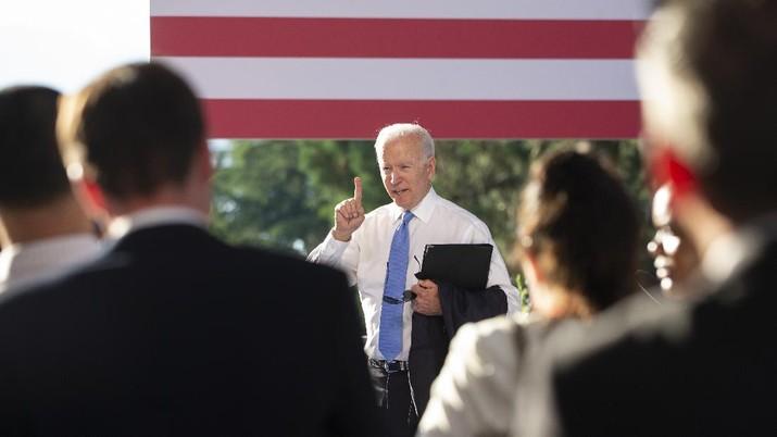 Joe Biden. (AP/Peter Klaunzer)