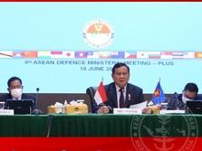Di Depan Menhan China & AS, Prabowo Bicara Laut China Selatan