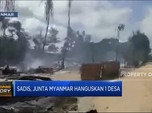 Sadis! Junta Myanmar Hanguskan 1 Desa