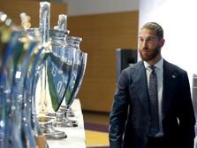 16 Tahun Bela Real Madrid, Sergio Ramos Ucapkan Sampai Jumpa!