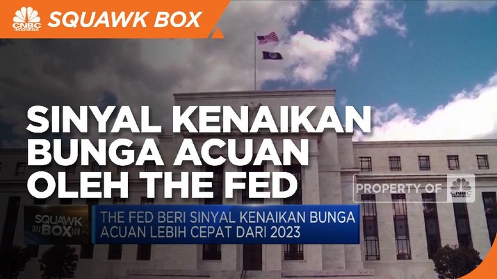 The Fed Beri Sinyal Kenaikan Bunga Acuan Lebih Cepat dari 2023