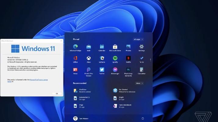 UI Windows 11