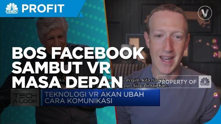Bos Facebook Sambut Virtual Reality Masa Depan