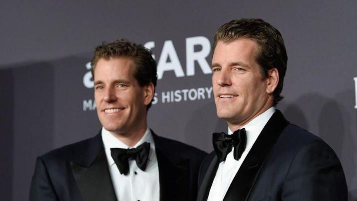 Cameron Winklevoss & Tyler Winklevos. (Dok: Evan Agostini/Invision/AP )