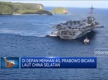 Di Depan Menhan AS, Prabowo Bicara Laut China Selatan