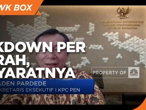 KPC-PEN Sebut Lockdown Daerah Dimungkinkan, Ini Syaratnya!