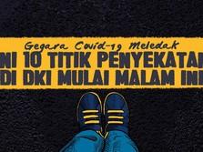 Mulai Malam Ini, Cek 10 Titik Penyekatan di Jakarta