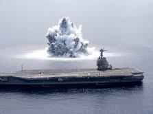 Awas China Panas! Kapal Perang AS Lintasi Selat Taiwan Lagi