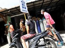 Tanda-Tanda Makin Ngeri, Tabung Oksigen di RI Mulai Diborong!
