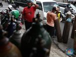 Berebut Tabung Oksigen, Indonesia Terserang Covid-19 Parah?