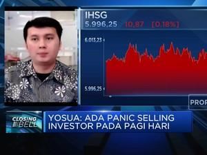 Panic Selling Akibat Covid-19, IHSG Kembali Ditutup Memerah