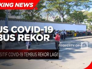 Rekor Lagi! Positif Covid-19 RI Tambah 14.536 Kasus