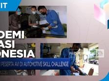 Sangar! Begini Kompetisi Vokasi Otomotif di Kota Makassar