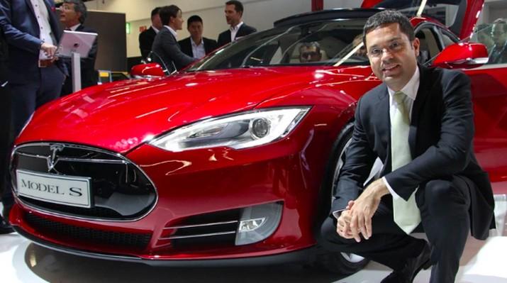 Mantan eksekutif Tesla Jerome Guillen, dok. Electrek