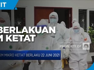 PPKM Mikro Ketat Resmi Berlaku 22 Juni 2021