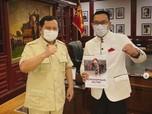 Terungkap, Ini Dia Hasil Pertemuan Kang Emil dengan Prabowo