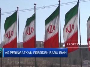 AS Peringatkan Presiden Baru Iran