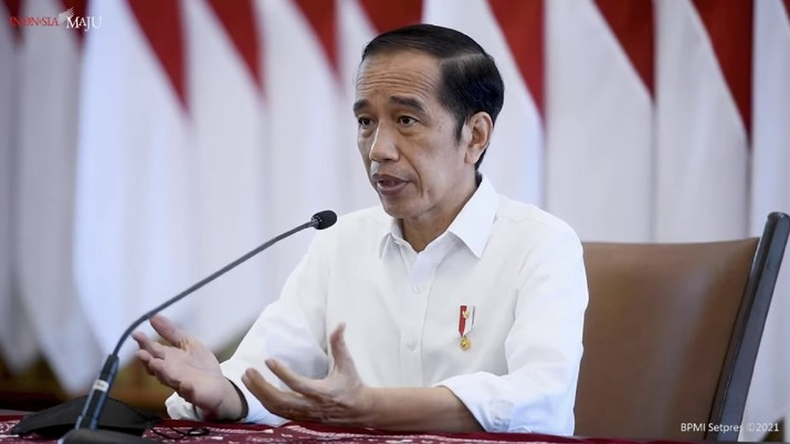 Pernyataan Kepala Negara Presiden RI Jokowi terkait Penanganan Covid-19 Terkini, Istana Bogor, 23 Juni 2021. (Tangkapan Layar Youtube Sekretariat Presiden RI)