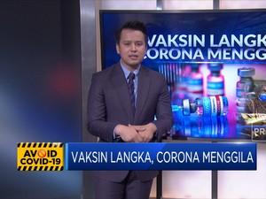 Vaksin Langka, Corona Menggila