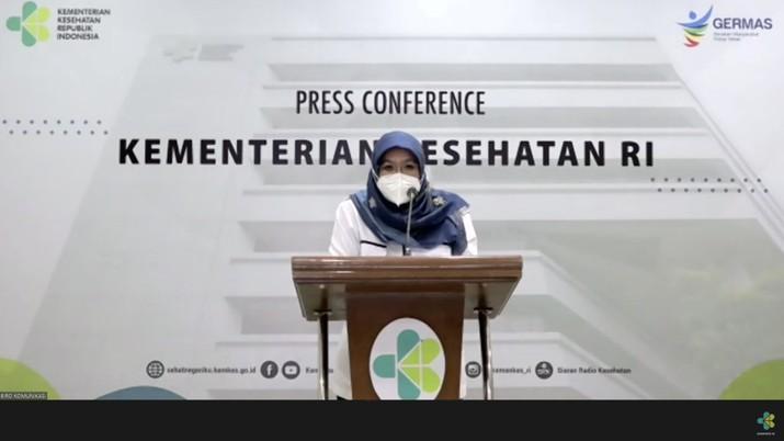Direktur Pencegahan dan Pengendalian Penyakit Tular Vektor dan Zoonotik Direktorat Jenderal Pencegahan dan Pengendalian Penyakit Kementerian Kesehatan Siti Nadia Tarmizi (Tangkapan Layar Youtube Kemenkes)