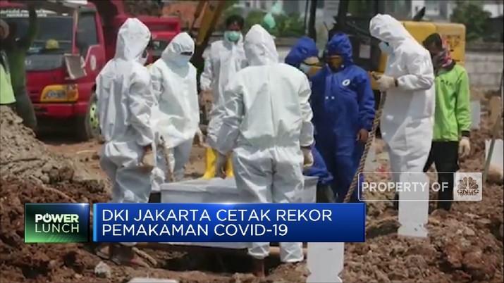 DKI Jakarta Cetak Rekor Pemakaman Covid-19