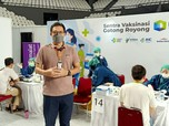 Karyawan Bank Muamalat Ikut Vaksinasi Gotong Royong