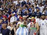 Seolah-olah Tak Ada Covid, Ini Ramainya Portugal vs Prancis