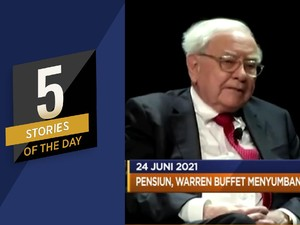 Pabrik Baterai Listrik RI, Hingga Warren Buffet Pensiun