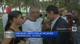 Pendiri Anti Virus McAfee Meninggal Dunia di Spanyol