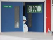 Rumah Sakit Penuh, Kasus Aktif Covid-19 Tembus 250 ribu Orang